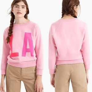 J. Crew   Pink LA Sweatshirt
